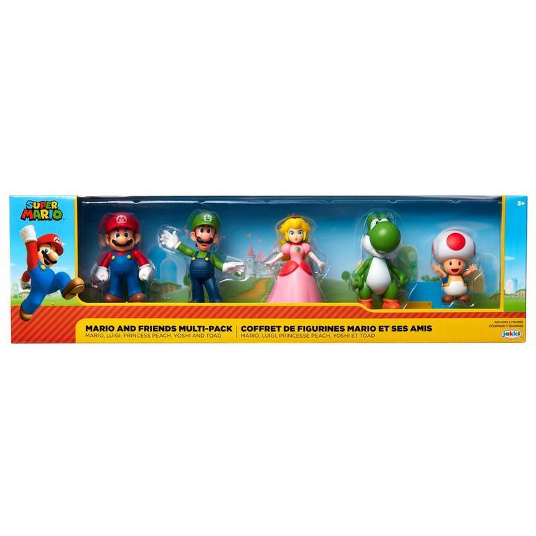 Super Mario Bros. Mario and Friends Multi-Pack Action Figures