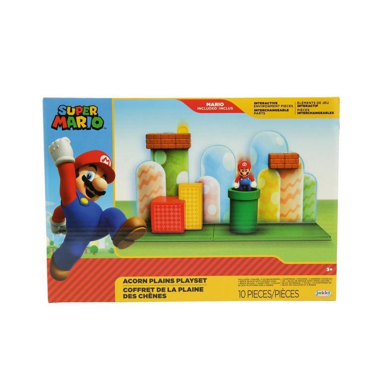 Super Mario Bros. Acorn Plains Playset