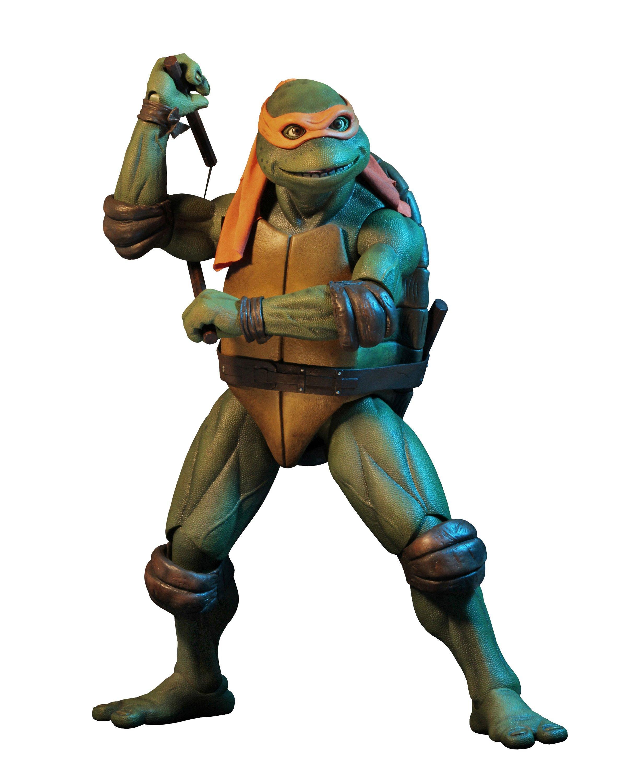 Teenage Mutant Ninja Turtles 1990 Michelangelo Action Figure Gamestop