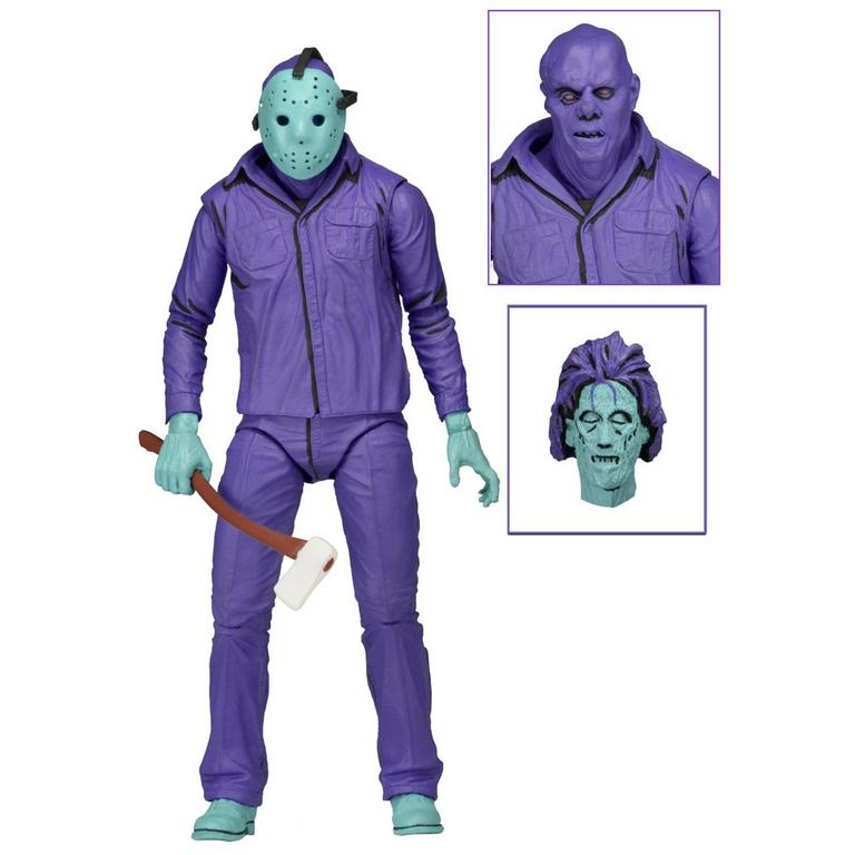 Friday the 13th - 7 inch Scale Figure - Jason (Classic Video Game Appearance Retail release with Theme Music) - Only at GameStop