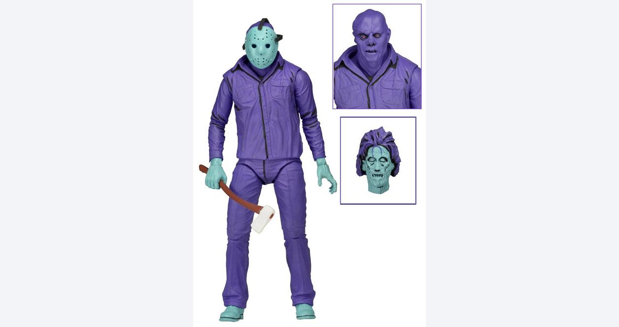 Friday the 13th 1989 Jason Action Figure Only at GameStop