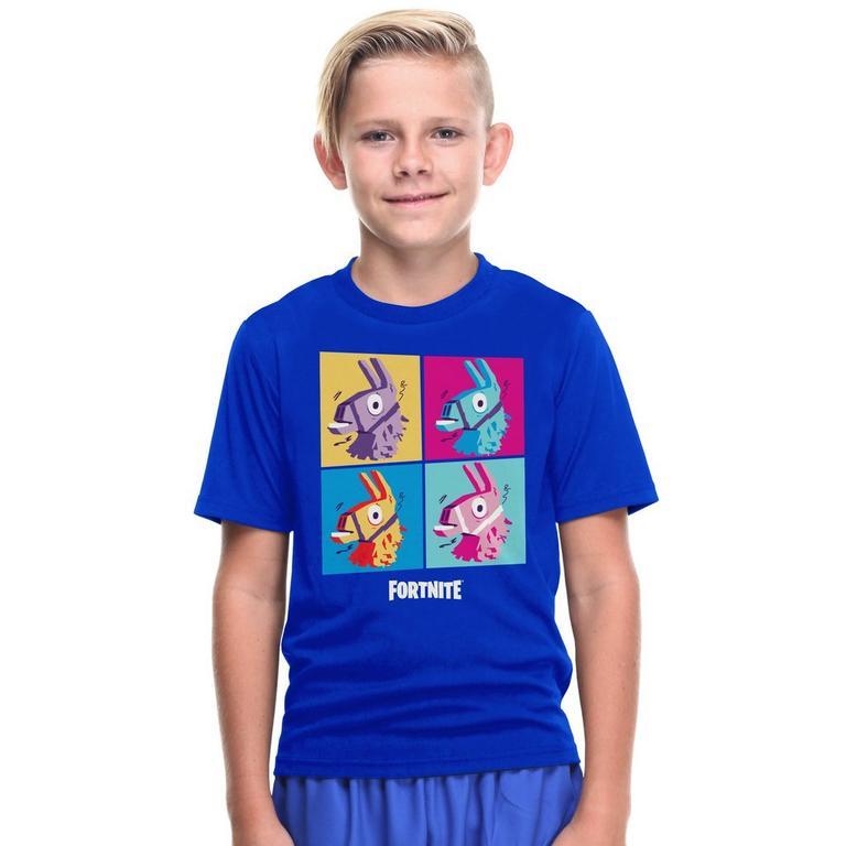 Fortnite Llama Grid Youth T-Shirt