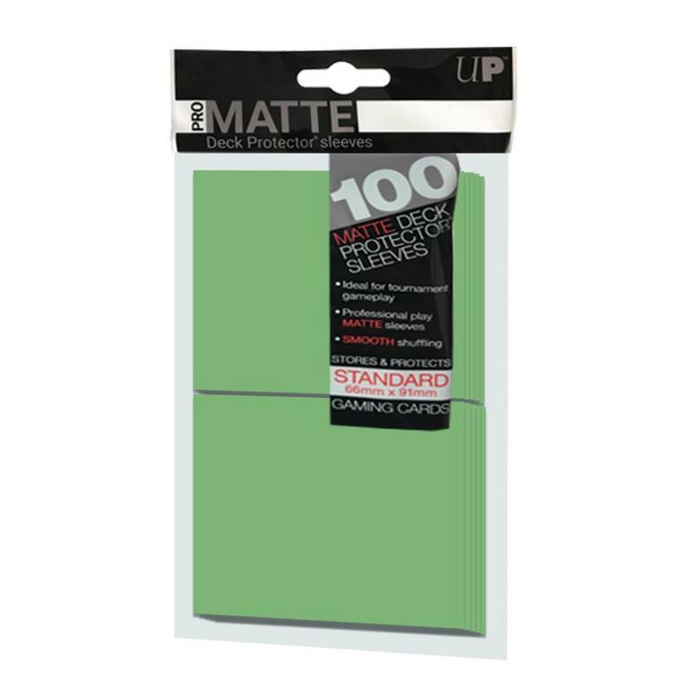 Deck Protector Green Sleeves 100 Pack