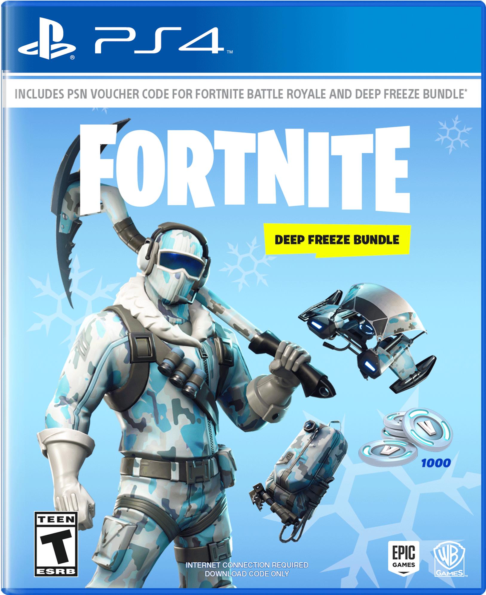 Fortnite Digital Standard Edition For A Friend Fortnite Deep Freeze Bundle Playstation 4 Gamestop