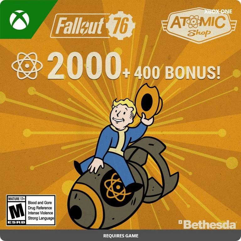 Fallout 76 - 2,400 Atoms