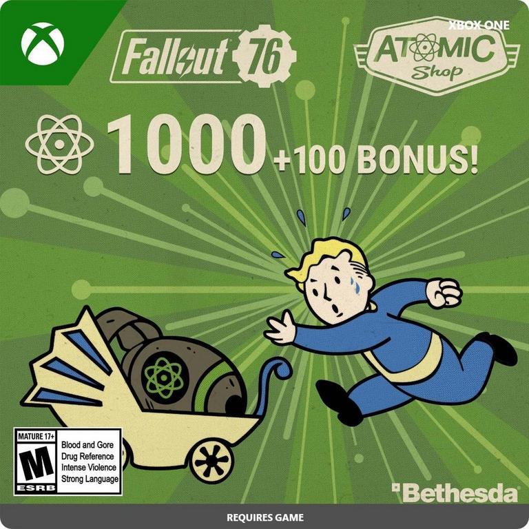 Fallout 76 - 1,100 Atoms