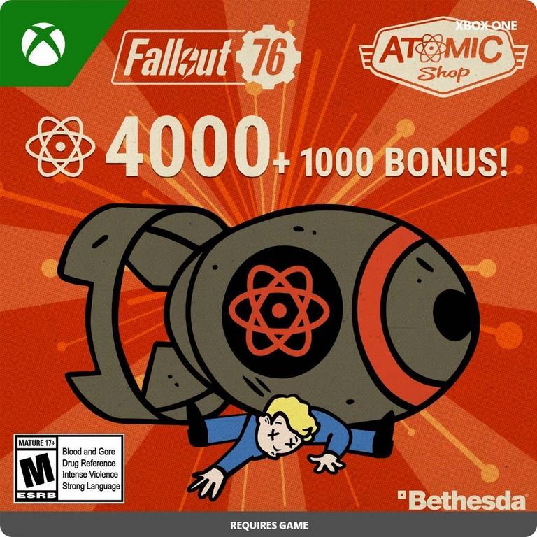 Fallout 76 - 5,000 Atoms