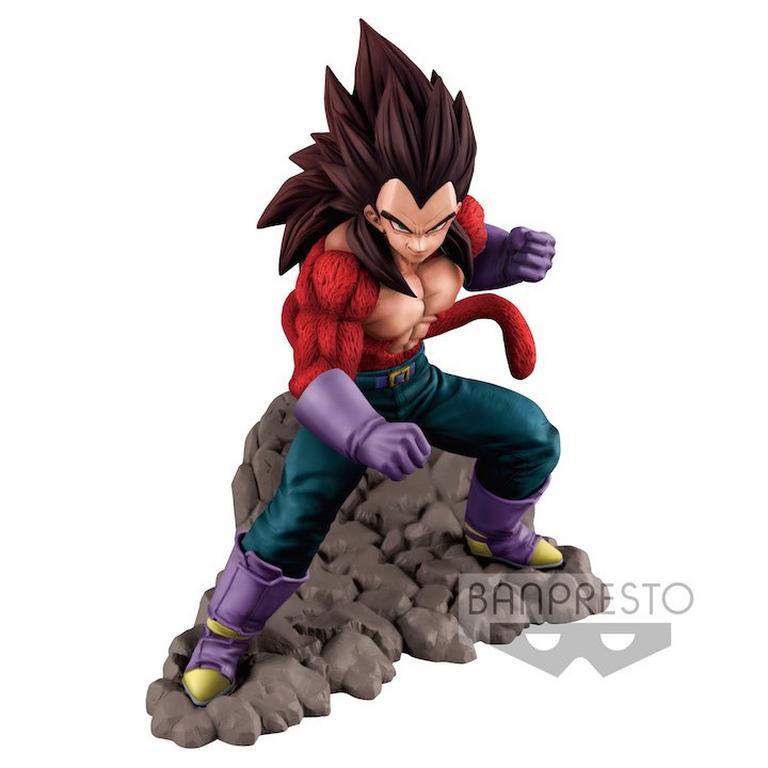 Dragon Ball GT Super Saiyan 4 Vegeta Statue