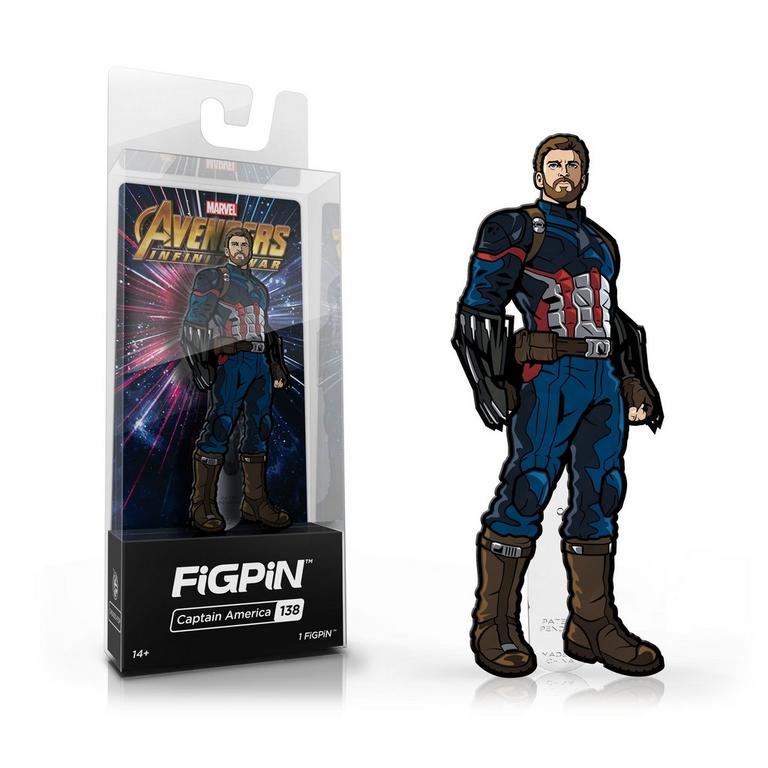Avengers Infinity War - Captain America FiGPiN