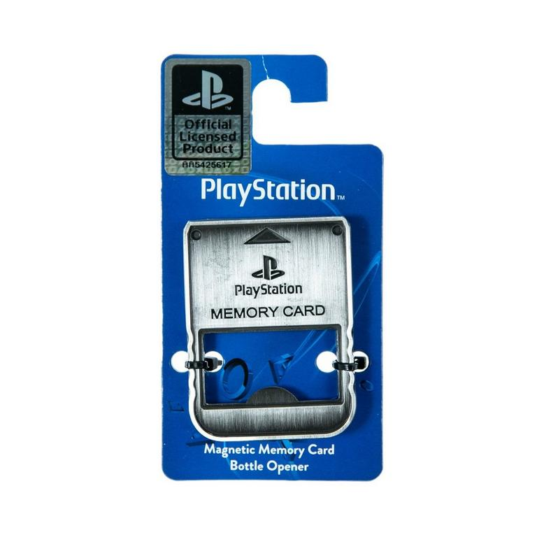 PlayStation 1 Memory Card Bottle Opener
