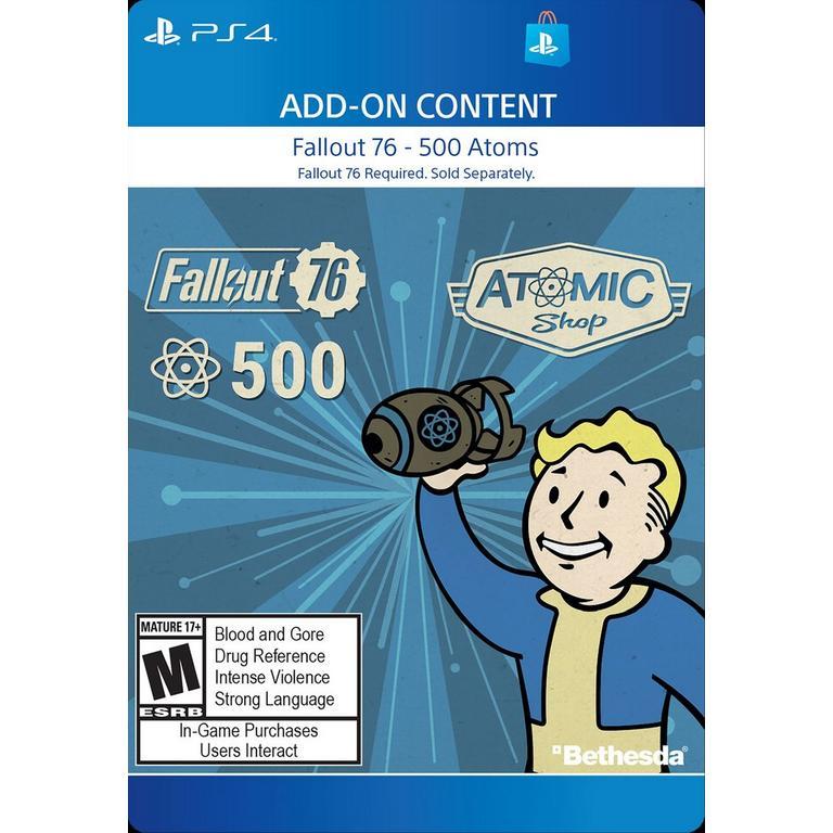 Fallout 76 - 500 Atoms