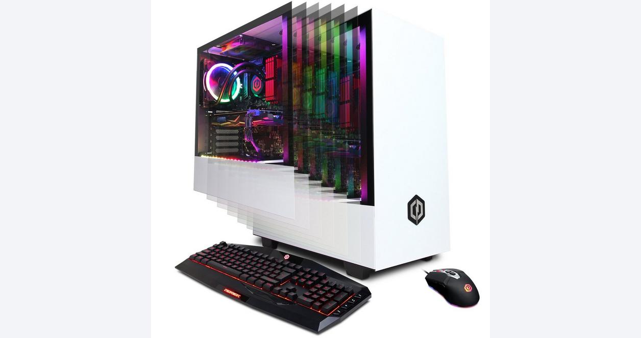 CYBERPOWERPC Gamer Supreme Liquid Cool SLC8960CPG with Intel i7-9700K 3.6GHz Gaming Computer