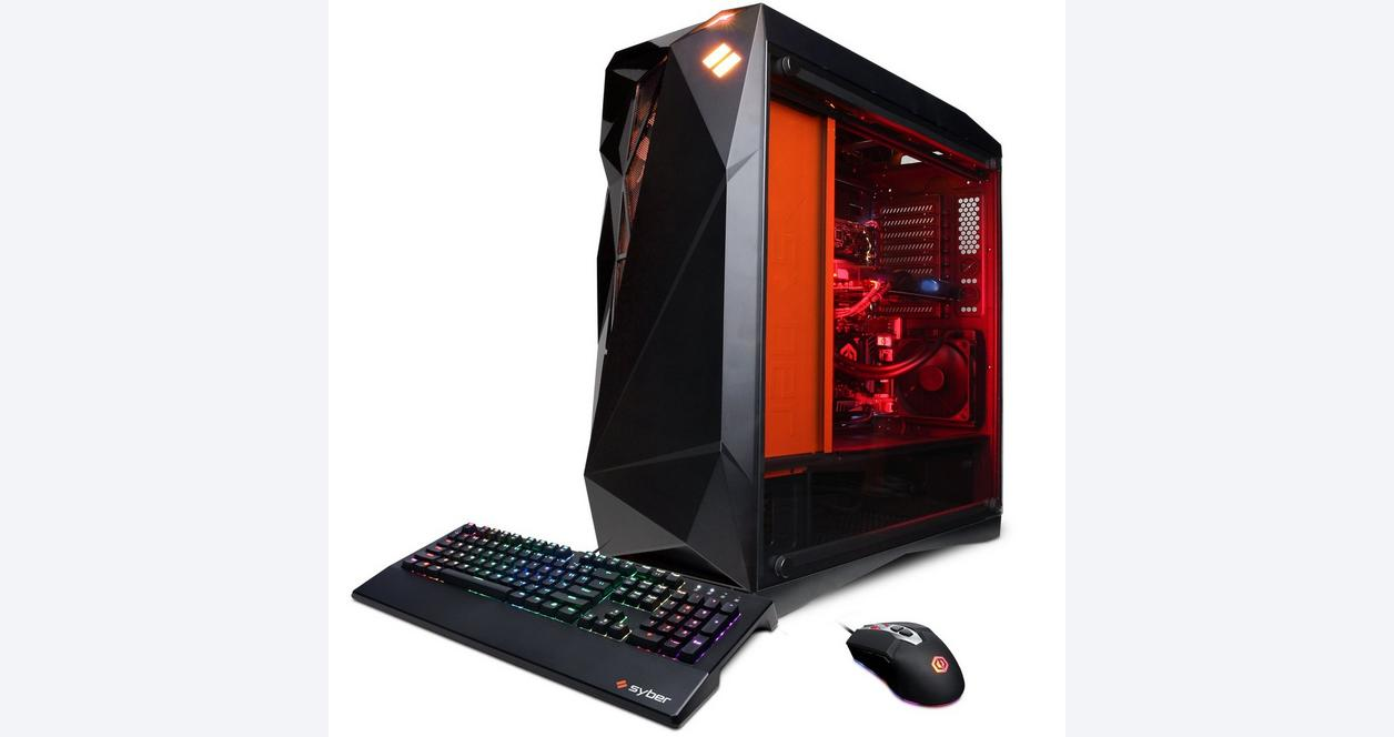 CYBERPOWERPC Syber Forti SFG9DX with Intel i7-9700K 3.6GHz Gaming Computer
