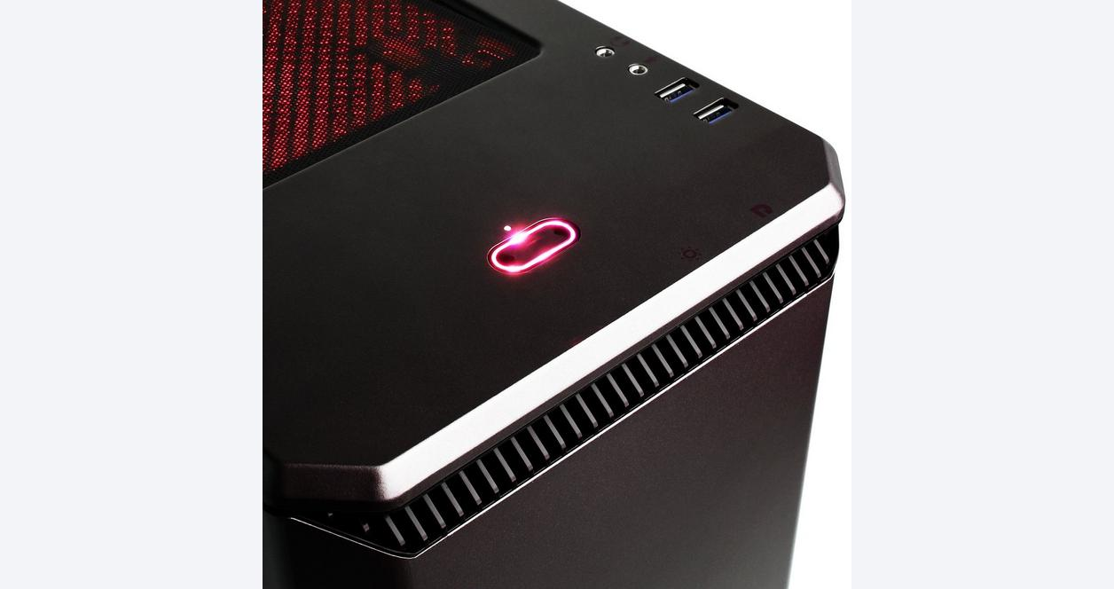 CYBERPOWERPC Gamer Master GMA8000CPG with AMD Ryzen 5 2600X 3.6GHz Gaming Computer