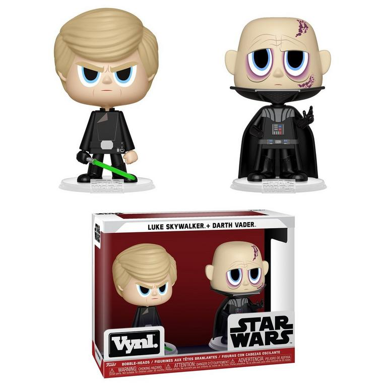 VYNL: Star Wars Luke Skywalker and Darth Vader 2 Pack
