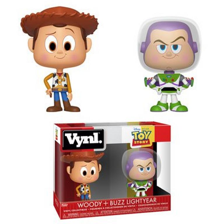 VYNL: Toy Story Woody and Buzz Lightyear