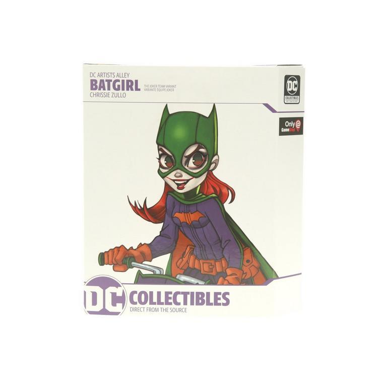 Batgirl by Chrissie Zullo Team Joker Variant DC Artists Alley Statue Only at GameStop