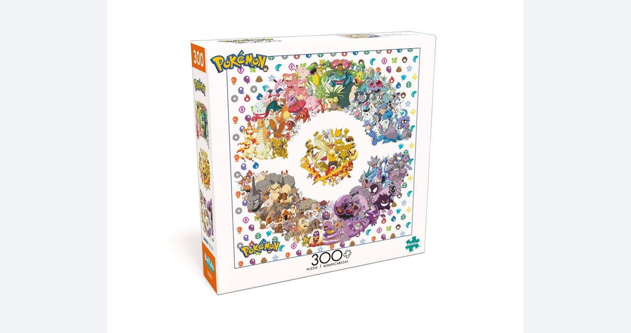 Pokemon Kanto Edition Puzzle