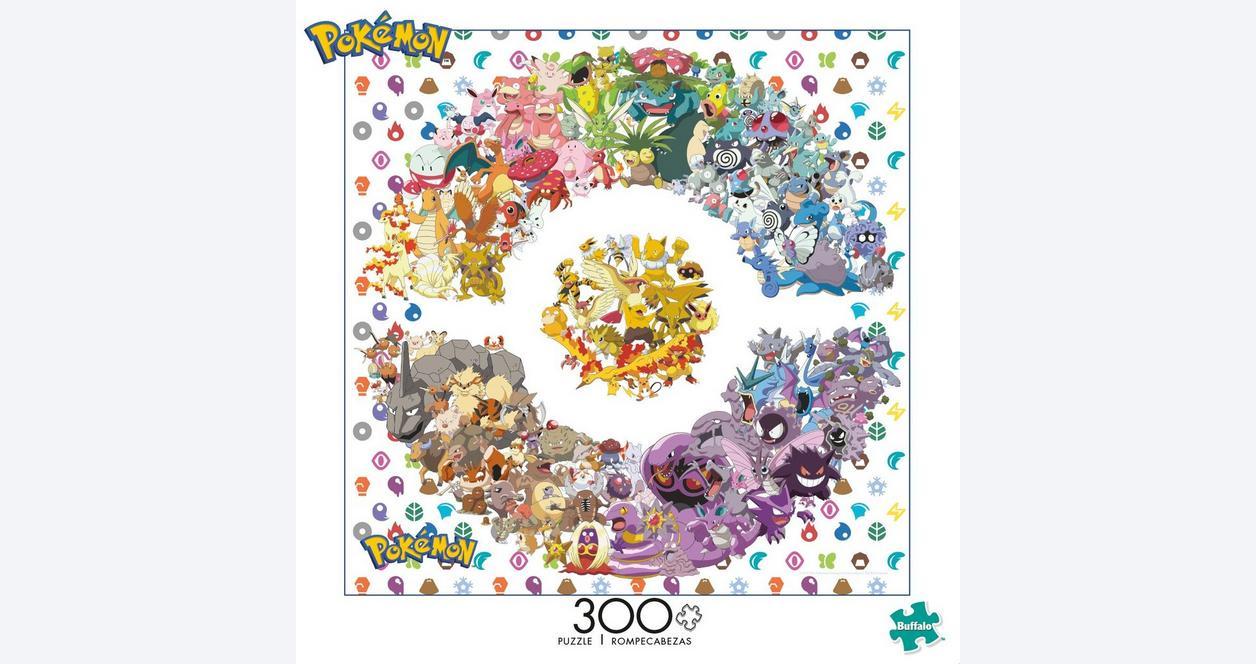 Pokemon - Kanto Edition - 300 Piece Jigsaw Puzzle