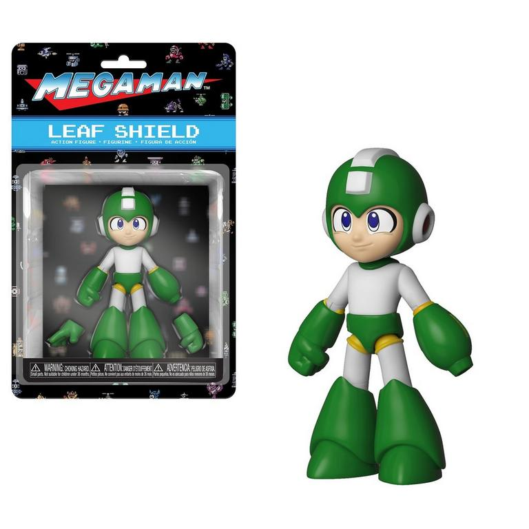 Mega Man Leaf Shield Action Figure