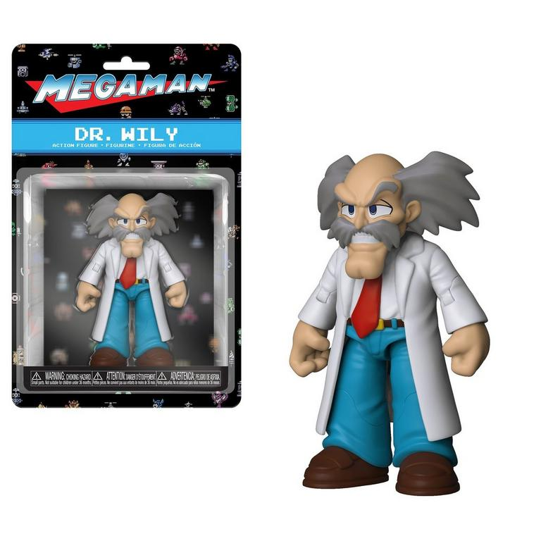 Action Figure: Mega Man - Dr. Wily