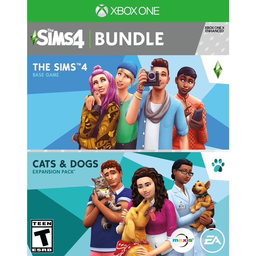 The Sims 4: Plus Cats & Dogs Bundle | Xbox One | GameStop