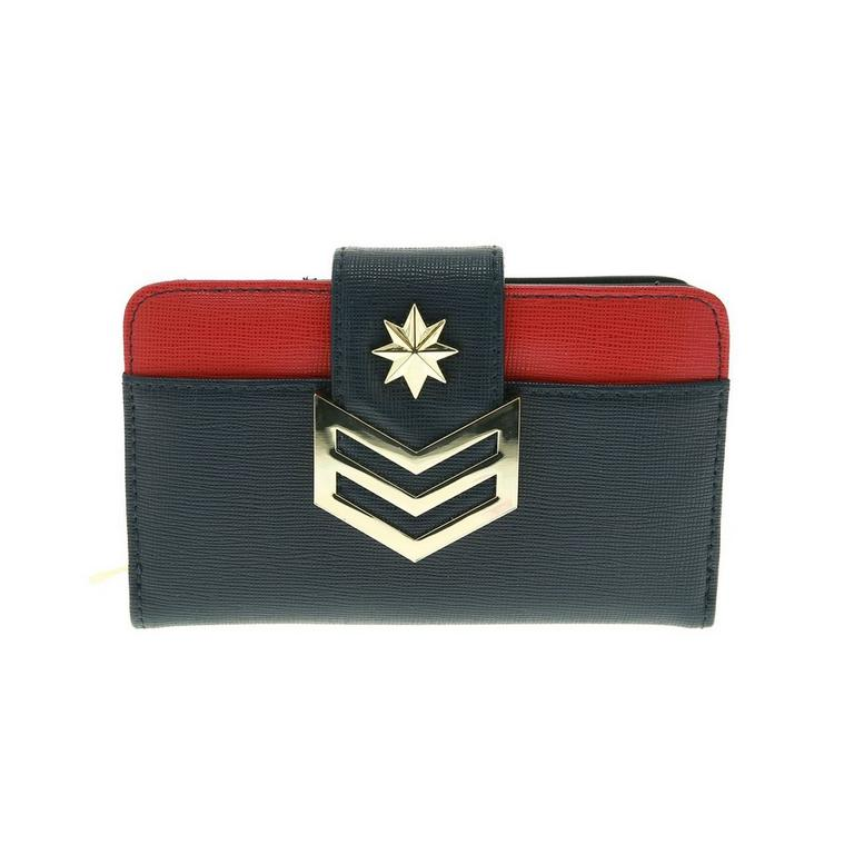 Captain Marvel Logo Wallet