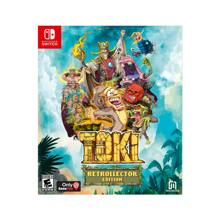 Toki Retrollector Edition Only at GameStop