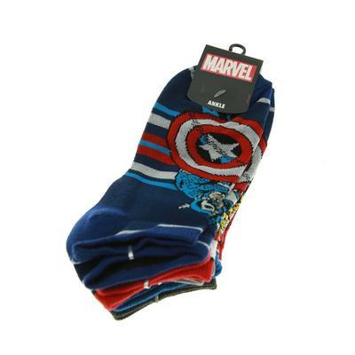 Marvel Characters Ankle Socks 4 Pair