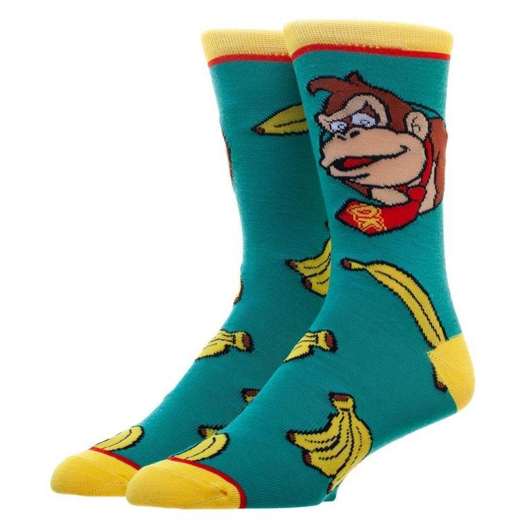 Donkey Kong Socks