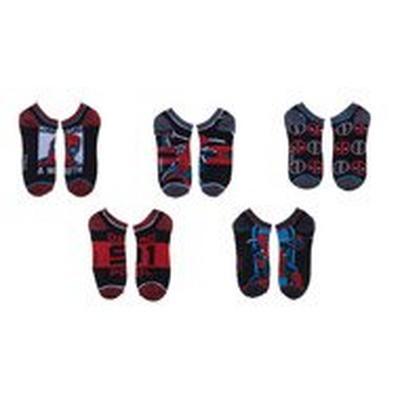 Deadpool Ankle Socks 5 Pack