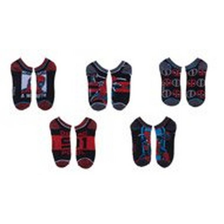 Deadpool Ankle Socks 5 Pack