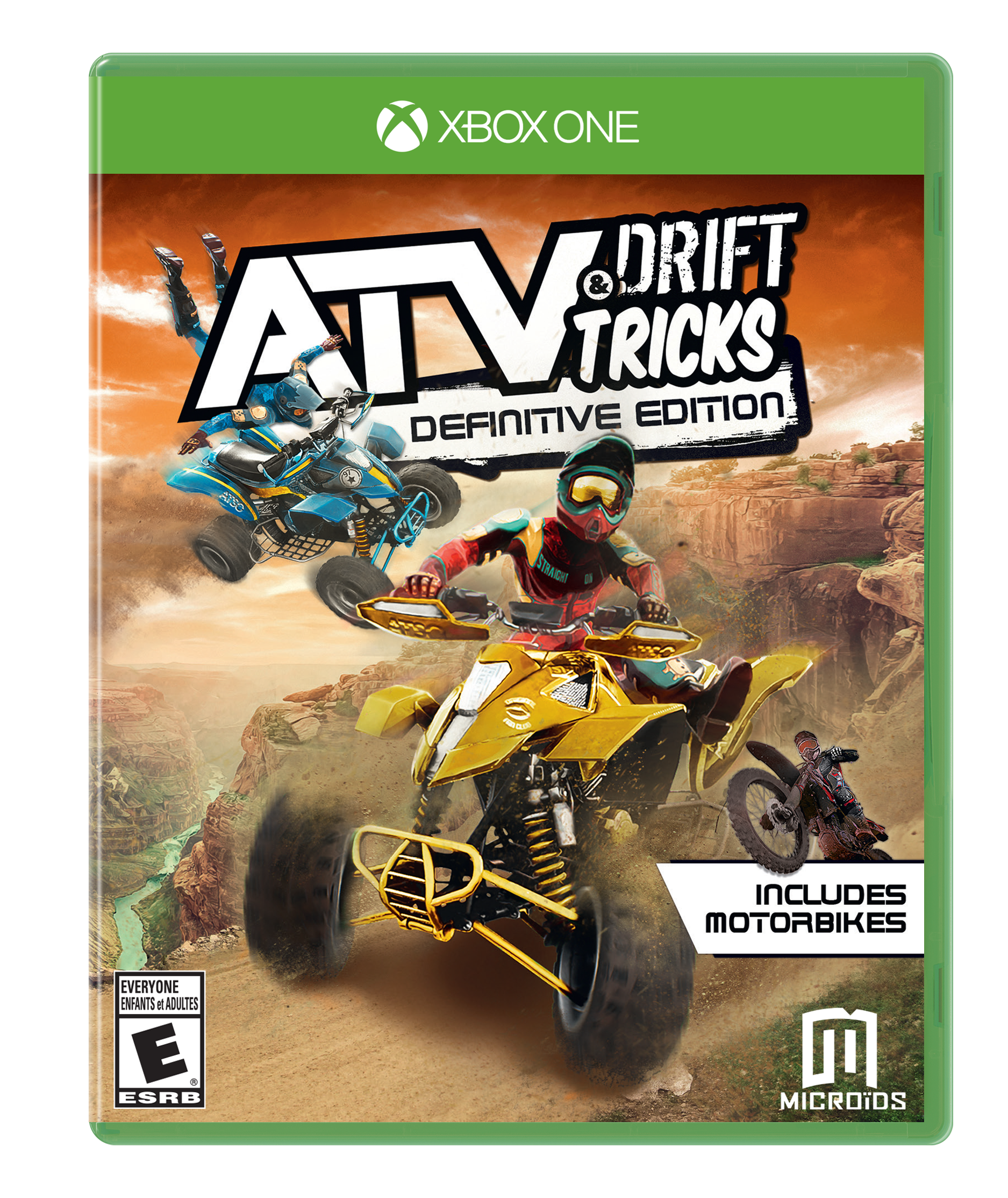 Atv Drift And Tricks Definitive Edition Xbox One Gamestop