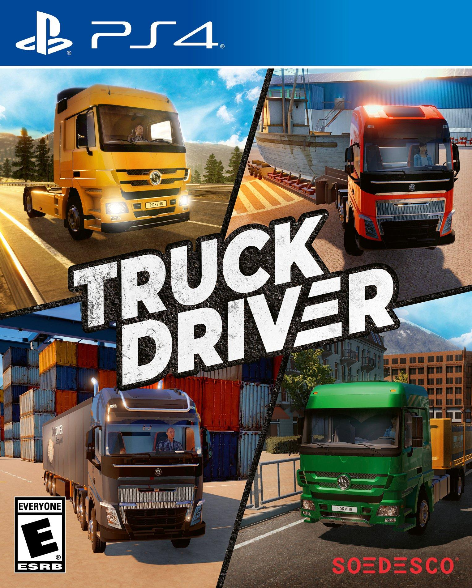 Truck Driver | PlayStation 4 | GameStop