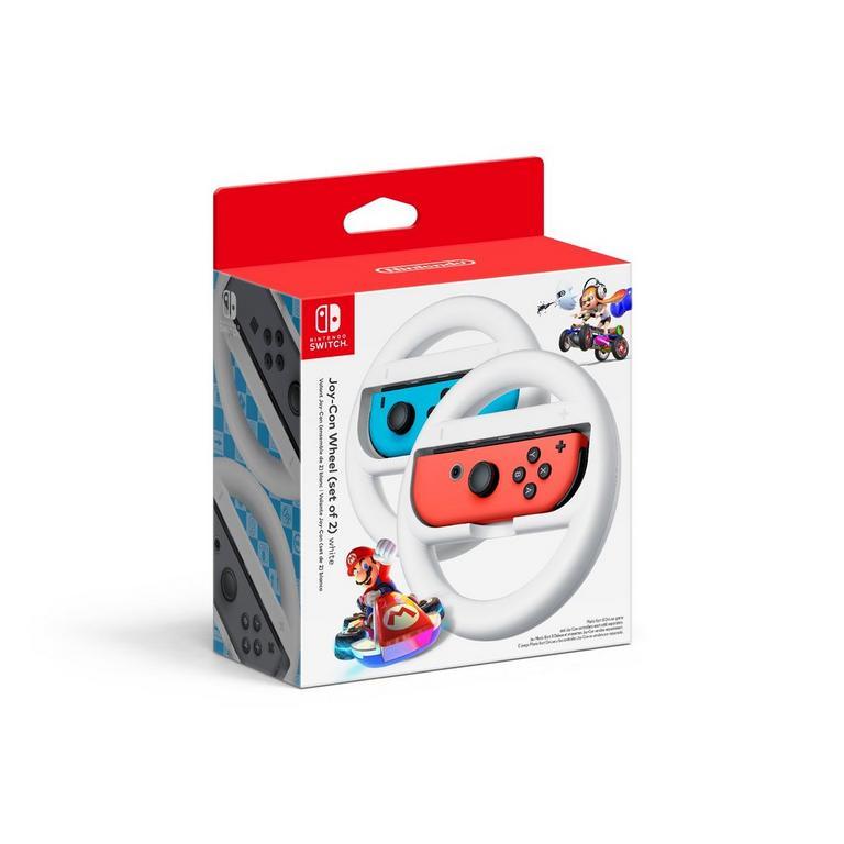 Nintendo Switch Joy-Con Wheel (set of 2) - White