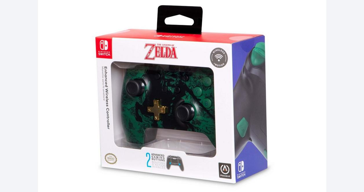 Nintendo Switch Link Silhouette Enhanced Wireless Controller