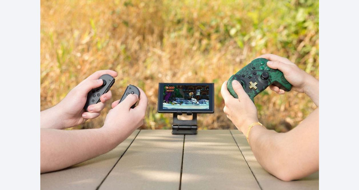 The Legend of Zelda Link Silhouette Enhanced Wireless Controller for Nintendo Switch