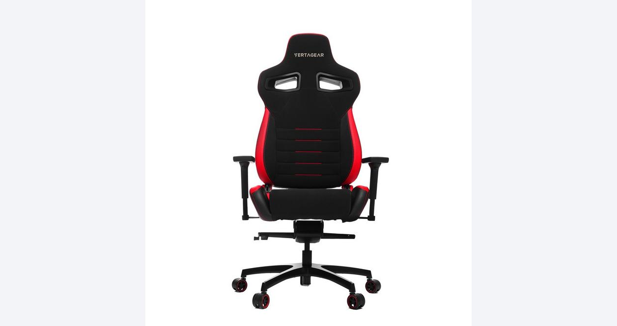 P-Line PL4500 Black and Red Racing Series Gaming Chair