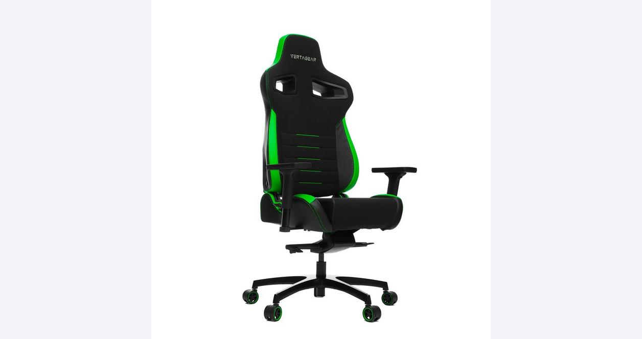 Vertagear Racing Series P-Line PL4500 Gaming Chair - Black/Green Edition