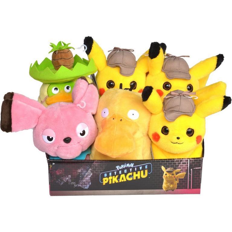 Pokemon Detective Pikachu Plush (Assortment)