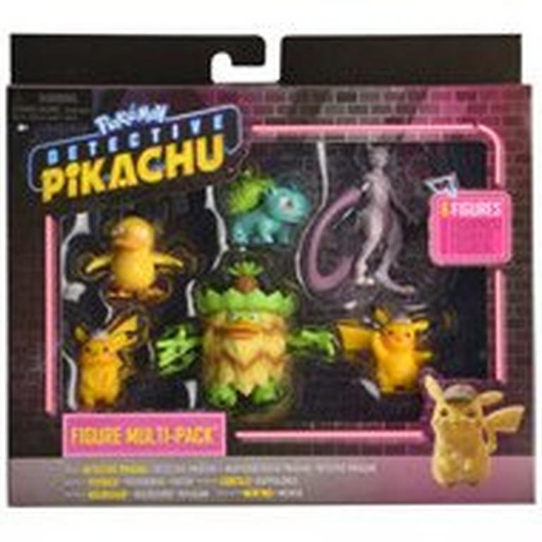 Pokemon Detective Pikachu Figure 6 Pack