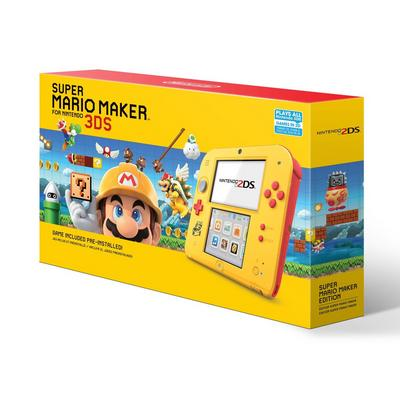 Nintendo 2DS Super Mario Maker Edition Bundle