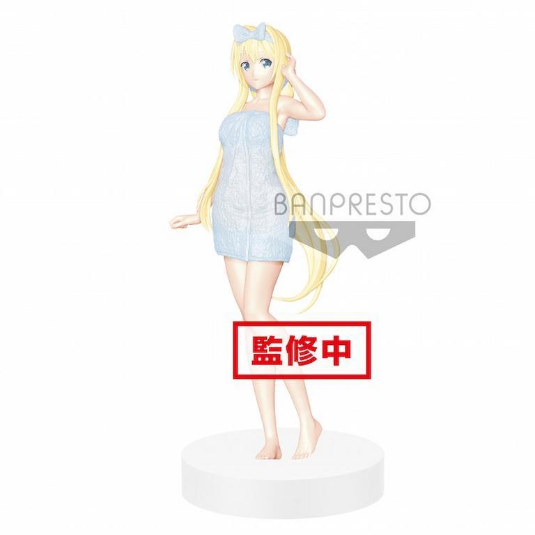 Sword Art Online: Code Register Alice Bath Version EXQ Statue