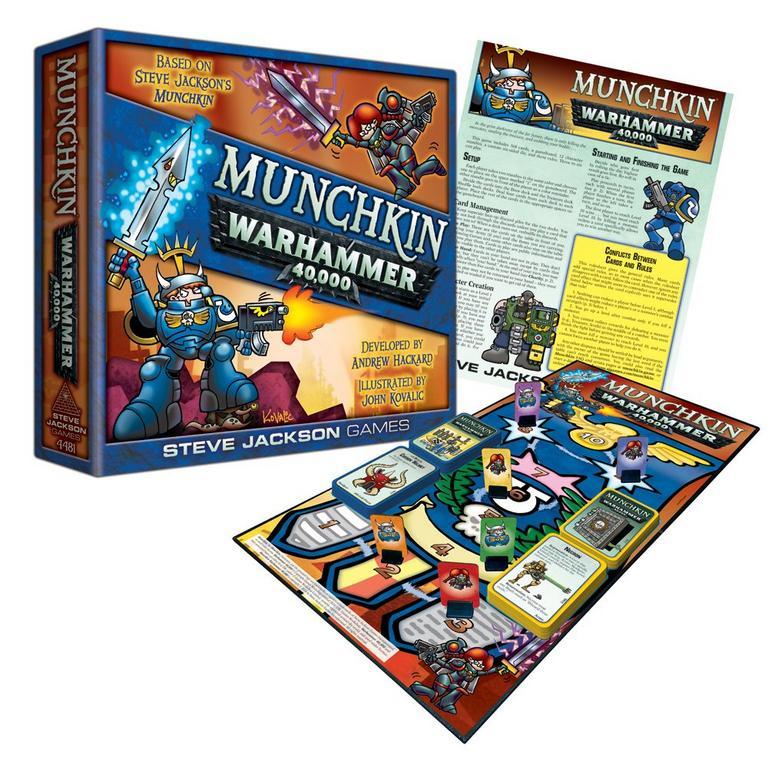 Munchkin Warhammer 40,000 Board Game