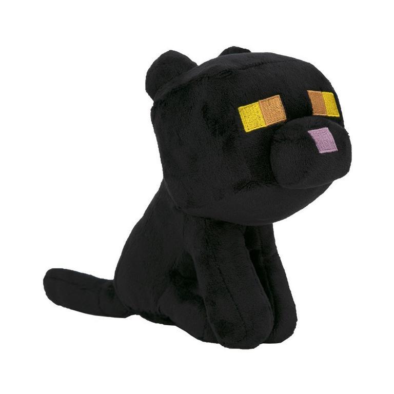 Minecraft Happy Explorer Black Cat Plush