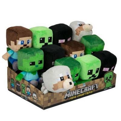Minecraft Mini Crafter Plush (Assortment)