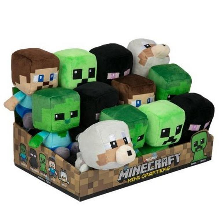 Minecraft Mini Crafter Plush (Assortment)
