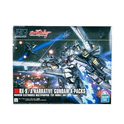Gundam Mobile Suit Gundam Narrative RX-9/A Narrative Gundam A-Packs High Grade Universal Century Model Kit