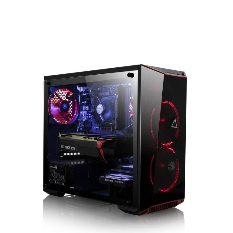 CLX SET RTM8900M with Intel Core i5 8400 2.8GHz, 8GB Memory, NVIDIA GeForce RTX 2080 Graphics, Gaming Desktop