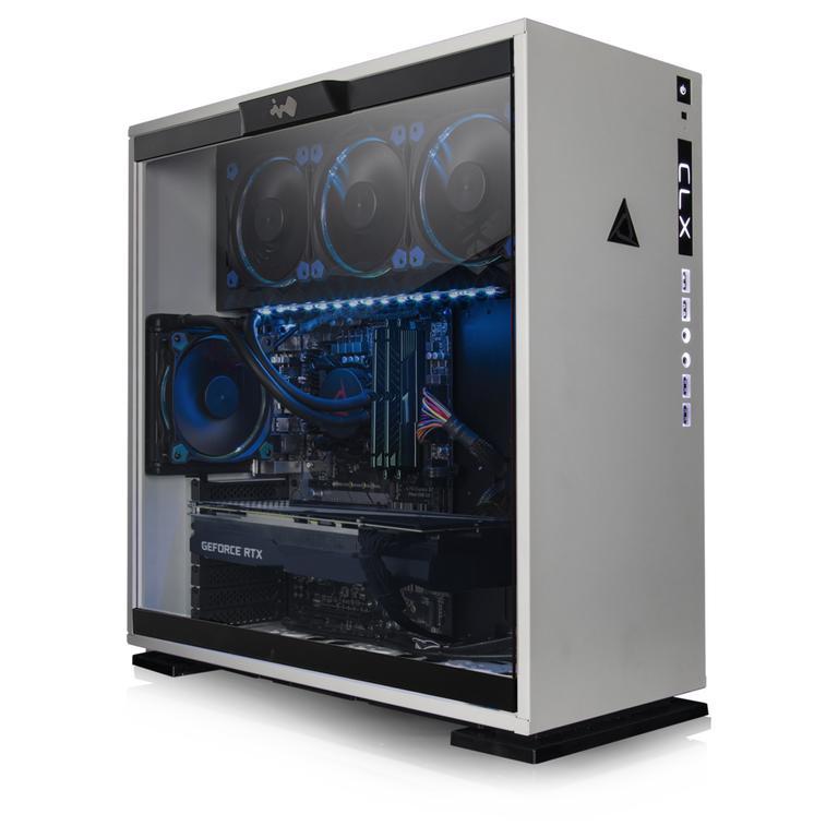 CLX SET RTH8913M with Intel Core i7 8700K 3.7GHz, 16GB Memory, NVIDIA GeForce RTX 2080 Ti Graphics, Gaming Desktop